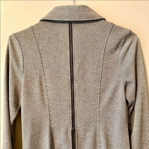 CAbi Jackets & Coats - Cabi Stiped Zip-Up Jacket Worn Once